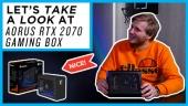 GRTV kikar på Aorus RTX 2070 Gaming Box