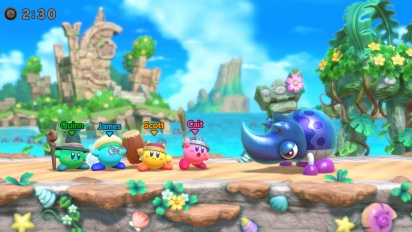 Super Kirby Clash - Nintendo Direct Reveal Trailer