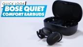 GRTV packar upp Bose QuietComfort Earbuds