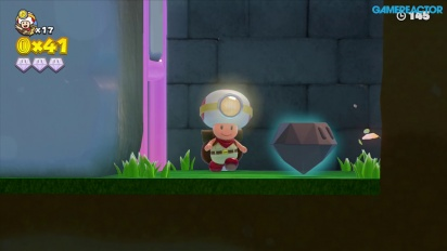 Captain Toad: Treasure Tracker: Mission 1-4 Mushroom Mesa Gameplay