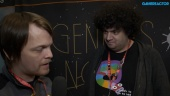 GRTV intervjuar skaparna av Genesis Noir