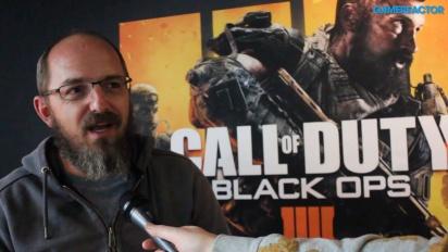 GRTV pratar med teamet bakom Call of Duty: Black Ops 4