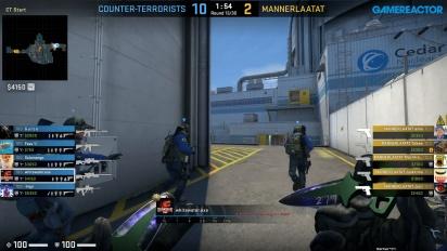 CS:GO 1 division - Bosei vs Mannerlaatat Week 6 - Nuke