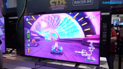 GRTV på PAX 2019: Crash Team Racing: Nitro-Fueled