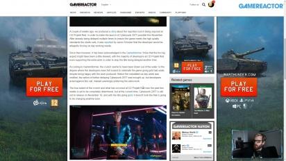 GRTV News: Crunchen under utvecklingen av Cyberpunk