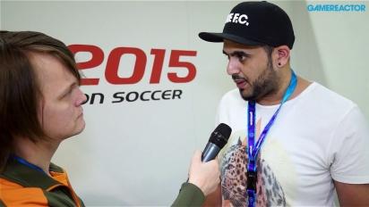 Pro Evolution Soccer 2015 - Adam Bhatti-intervju