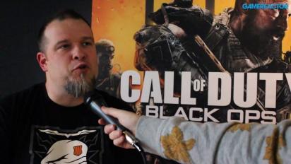 GRTV pratar med folket bakom Call of Duty: Black Ops 4