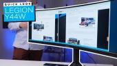 GRTV packar upp nya Lenovo Legion Y44W