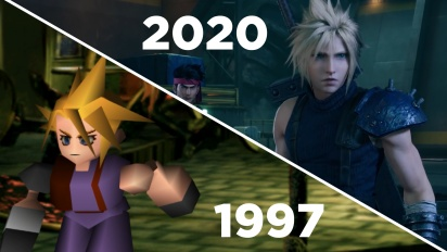 Final Fantasy VII: Remake vs Original - Gamereactor jämför
