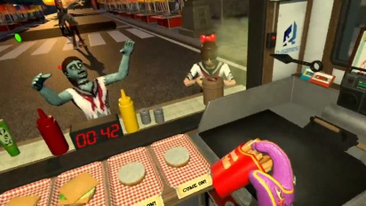 Pixeljunk VR Dead Hungry - PGW 2017 Trailer