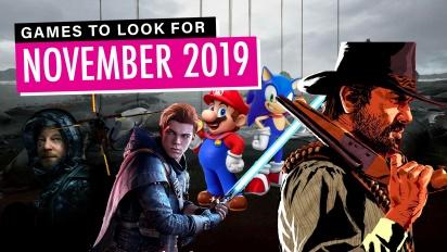 GRTV listar november-spelen som du bör hålla utkik efter
