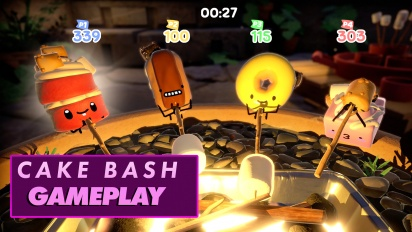 Cake Bash - Gameplay