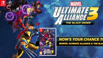 Marvel Ultimate Alliance 3: The Black Order - Lagspel till Nintendo Switch (Sponsrad #2)