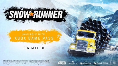 SnowRunner - Now Available on Xbox Game Pass Trailer