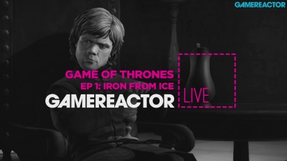 Game of Thrones - EP1: Iron From Ice - Livestream Replay