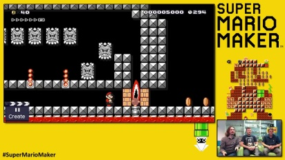 Super Mario Maker - Bob Bombstacle Course by Playtonic Games