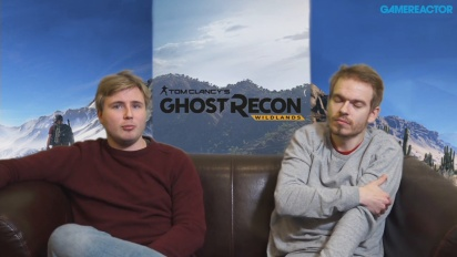 GRTV diskuterar Ghost Recon: Wildlands