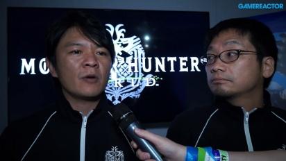 Monster Hunter: World - Ryozo Tsujimoto & Kaname Fujioka intervjuade
