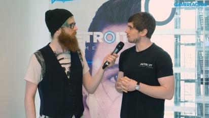 GRTV intervjuar teamet bakom Detroit: Become Human