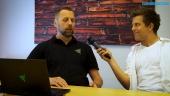 GRTV intervjuar Razer på Dreamhack Summer