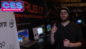 GRTV på CES 2020: Gigabyte Laptop Tour