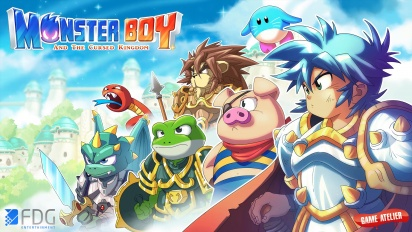 Monster Boy and the Cursed Kingdom - Switch Gameplay Trailer