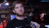 GRTV intervjuar HP om deras Omen-serie