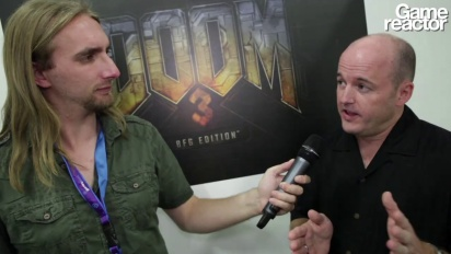 GC 12: Doom 3 BFG Edition - Intervju
