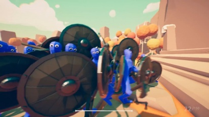 Totally Accurate Battle Simulator - First-person Weapons Test Trailer