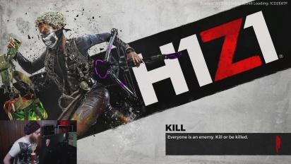 Vi överlever zombie-apokalypsen i H1Z1
