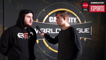 Call of Duty World League (Atlanta) - Intervju med Rated