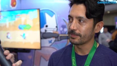 Castle Crashers Remastered - Ian Moreno intervjuad