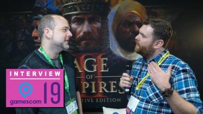GRTV på Gamescom 19: Intervju med Age of Empires II: Definitive Edition-teamet