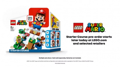 LEGO Super Mario - A closer look with Lead Designer, Jonathan Bennink