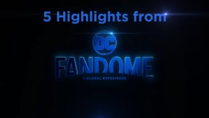 GRTV listar fem höjdpunkter från DC Fandome 2020