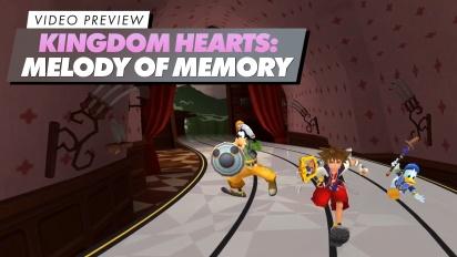 GRTV förhandstestar Kingdom Hearts: Melody of Memory