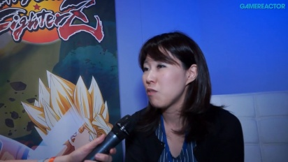 Dragon Ball FighterZ - Tomoko Hiroki intervjuad