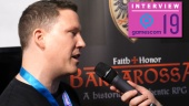 GRTV på Gamescom 19: Intervju med folket bakom Faith + Honor: Barbarossa