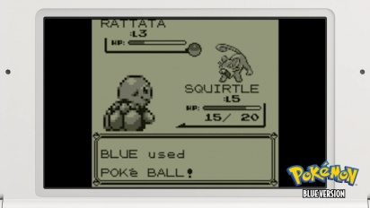 Pokémon Blue - Launch Trailer