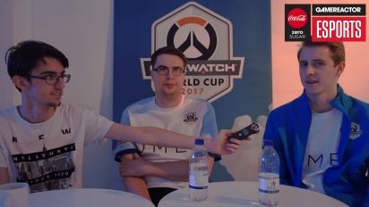 Vi pratar med det engelska VM-laget i Overwatch