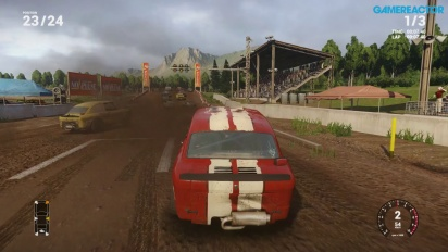 Next Car Game Early Access Pre-Alpha Gameplay - Gravel Race 24 Cars