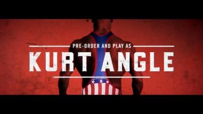 WWE 2K18 Kurt Angle Pre-Order Bonus official trailer