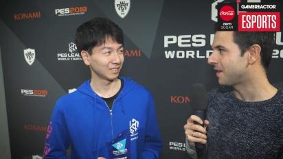 GRTV @ PES League Berlin: Intervju med Naoki