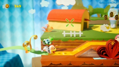 GRTV fortsätter att spela Yoshi's Crafted World