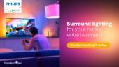 Philips Hue - Surround Lighting Setup (Sponsored)