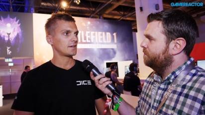 Battlefield 1: Incursions - Vi pratar med producenten David Sirland