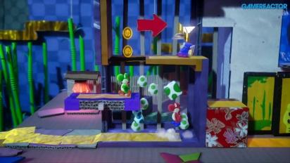 GRTV myser lite med Yoshi's Crafted World