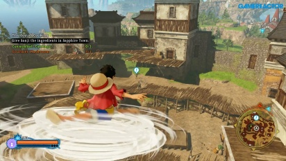GRTV besöker Pirate Islands i One Piece: World Seeker