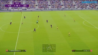 eFootball PES 2020 - FC Barcelona mor Arsenal Gameplay