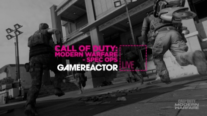 GRTV spelar Call of Duty: Modern Warfare - Spec Ops